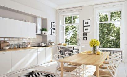 Quatre équipements indispensables pour une cuisine ouverte sur la salle à manger