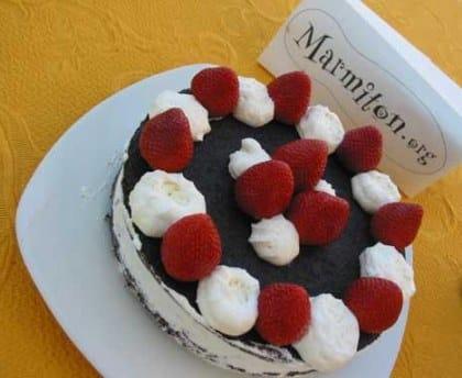 Comment faire un plat de fraises Marmiton?